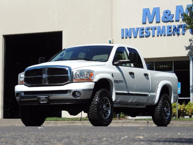 "2006 Dodge Ram 2500 Laramie 5.9L Quad Cab 4WD LIFTED / 35 ""MUD LOWMILES - Photo 1 - Portland, OR 97217"