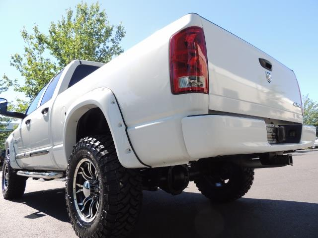 "2006 Dodge Ram 2500 Laramie 5.9L Quad Cab 4WD LIFTED / 35 ""MUD LOWMILES - Photo 23 - Portland, OR 97217"