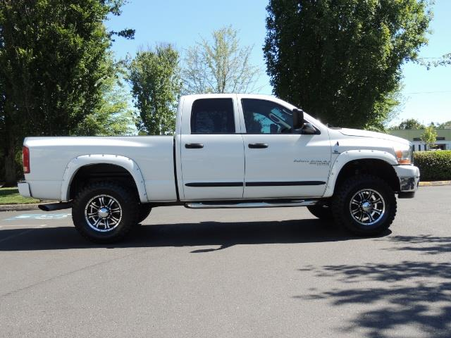 "2006 Dodge Ram 2500 Laramie 5.9L Quad Cab 4WD LIFTED / 35 ""MUD LOWMILES - Photo 3 - Portland, OR 97217"