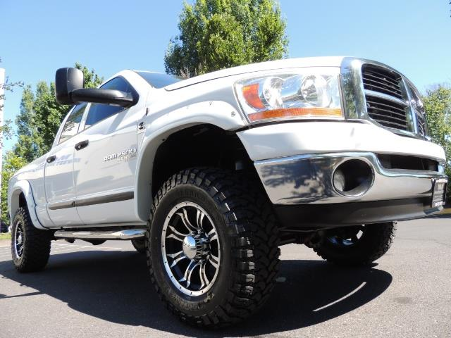 "2006 Dodge Ram 2500 Laramie 5.9L Quad Cab 4WD LIFTED / 35 ""MUD LOWMILES - Photo 42 - Portland, OR 97217"