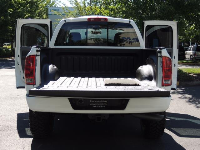 "2006 Dodge Ram 2500 Laramie 5.9L Quad Cab 4WD LIFTED / 35 ""MUD LOWMILES - Photo 27 - Portland, OR 97217"