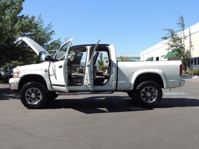 "2006 Dodge Ram 2500 Laramie 5.9L Quad Cab 4WD LIFTED / 35 ""MUD LOWMILES - Photo 9 - Portland, OR 97217"