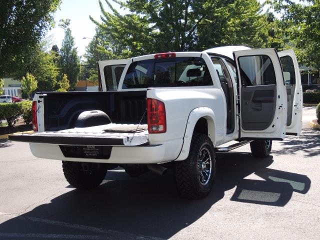 "2006 Dodge Ram 2500 Laramie 5.9L Quad Cab 4WD LIFTED / 35 ""MUD LOWMILES - Photo 28 - Portland, OR 97217"