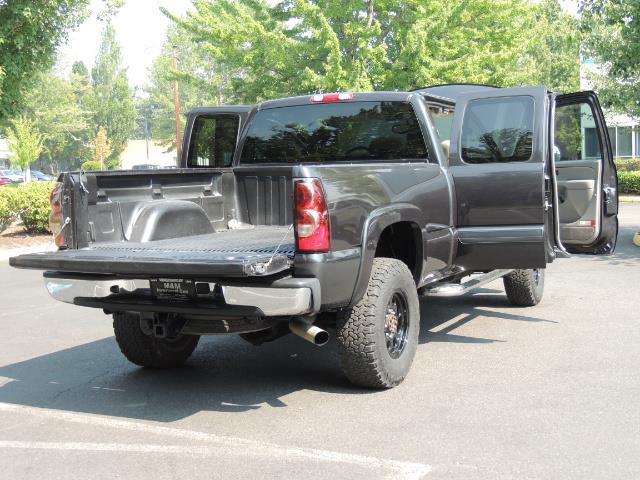 2005 Chevrolet Silverado 2500 LT 4dr Extended Cab LT / 4X4 / DURAMAX DIESEL - Photo 29 - Portland, OR 97217