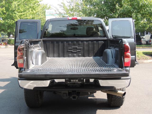 2005 Chevrolet Silverado 2500 LT 4dr Extended Cab LT / 4X4 / DURAMAX DIESEL - Photo 28 - Portland, OR 97217