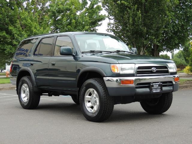 1998 Toyota 4Runner SR5 4dr 4WD 3.4L Timing Belt Done - Photo 2 - Portland, OR 97217