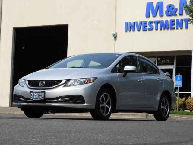 2015 Honda Civic SE / Sedan / Backup camera / Spoiler / 1-OWNER - Photo 1 - Portland, OR 97217