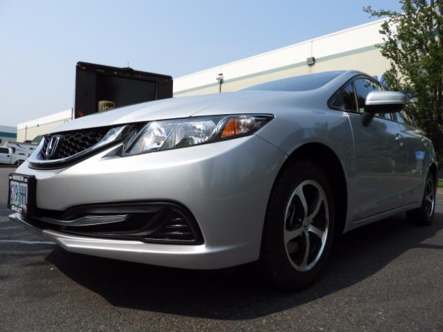 2015 Honda Civic SE / Sedan / Backup camera / Spoiler / 1-OWNER - Photo 9 - Portland, OR 97217