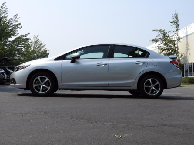 2015 Honda Civic SE / Sedan / Backup camera / Spoiler / 1-OWNER - Photo 3 - Portland, OR 97217