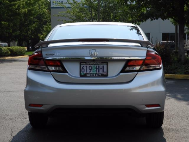 2015 Honda Civic SE / Sedan / Backup camera / Spoiler / 1-OWNER - Photo 6 - Portland, OR 97217