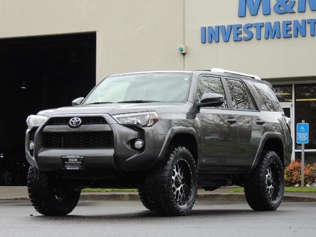2016 Toyota 4Runner 4WD / V6 / 3RD SEAT / FACTORY WARRANTY / LIFTED !! - Photo 43 - Portland, OR 97217