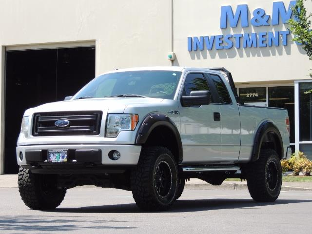 2013 ford f 150 stx 4x4 8cyl 4 door low miles lifted. Black Bedroom Furniture Sets. Home Design Ideas