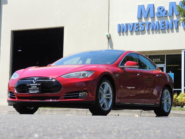 2014 Tesla Model S 85 / Leather / Heated seats / Panorama Roof / Navi - Photo 46 - Portland, OR 97217