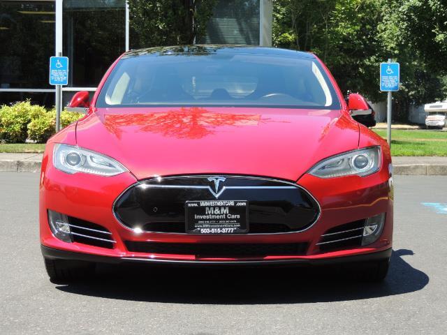 2014 Tesla Model S 85 / Leather / Heated seats / Panorama Roof / Navi - Photo 5 - Portland, OR 97217