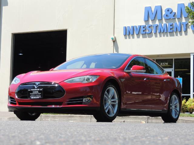 2014 Tesla Model S 85 / Leather / Heated seats / Panorama Roof / Navi - Photo 47 - Portland, OR 97217