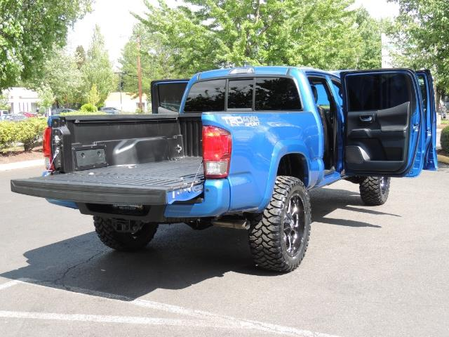 2016 Toyota Tacoma TRD Sport 4X4 / Navi / Long Bed / 14Kmile / LIFTED - Photo 37 - Portland, OR 97217