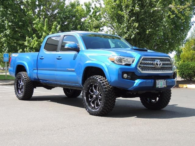 2016 toyota tacoma trd sport 4x4 navi long bed 14kmile lifted. Black Bedroom Furniture Sets. Home Design Ideas