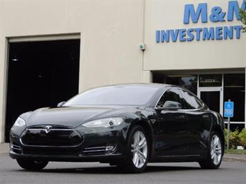 2013 Tesla Model S Tech Package / 5YR TESLA EXTENDED WARRANTY INCLUDE Sedan