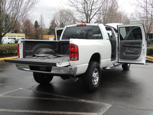2006 Dodge Ram 3500 SLT 4dr Mega Cab / 4X4 / 5.9L DIESEL / 6-SPEED - Photo 29 - Portland, OR 97217