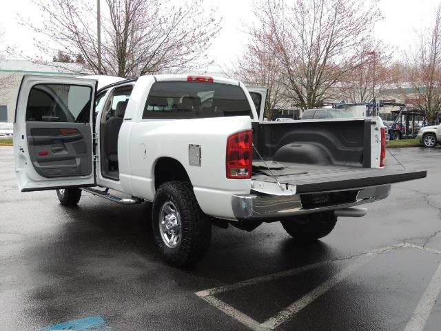 2006 Dodge Ram 3500 SLT 4dr Mega Cab / 4X4 / 5.9L DIESEL / 6-SPEED - Photo 27 - Portland, OR 97217
