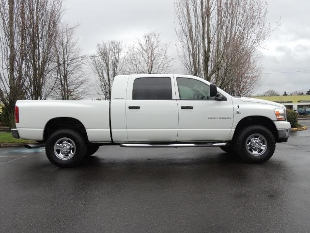 2006 Dodge Ram 3500 SLT 4dr Mega Cab / 4X4 / 5.9L DIESEL / 6-SPEED - Photo 4 - Portland, OR 97217