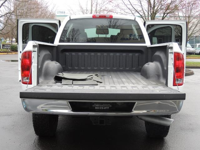 2006 Dodge Ram 3500 SLT 4dr Mega Cab / 4X4 / 5.9L DIESEL / 6-SPEED - Photo 22 - Portland, OR 97217