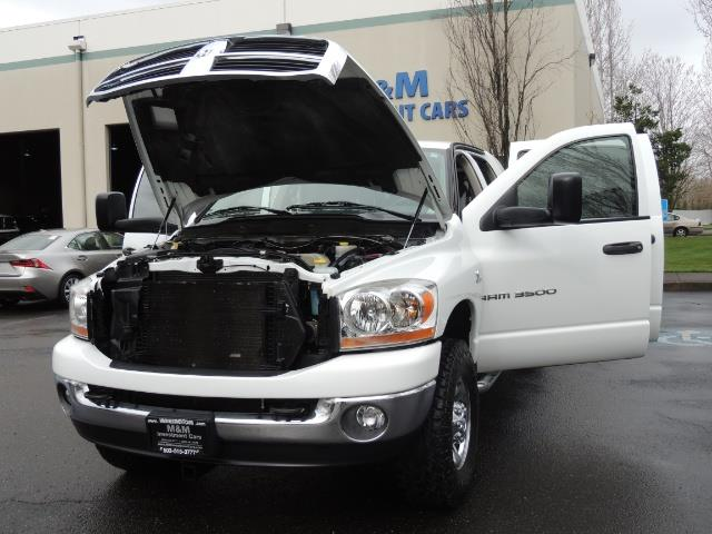 2006 Dodge Ram 3500 SLT 4dr Mega Cab / 4X4 / 5.9L DIESEL / 6-SPEED - Photo 25 - Portland, OR 97217