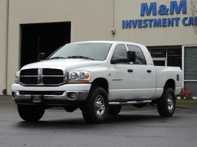 2006 Dodge Ram 3500 SLT 4dr Mega Cab / 4X4 / 5.9L DIESEL / 6-SPEED - Photo 45 - Portland, OR 97217