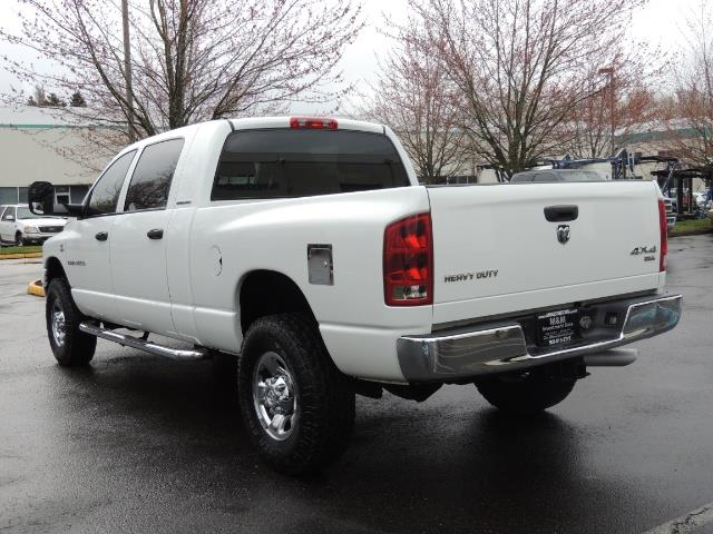 2006 Dodge Ram 3500 SLT 4dr Mega Cab / 4X4 / 5.9L DIESEL / 6-SPEED - Photo 7 - Portland, OR 97217
