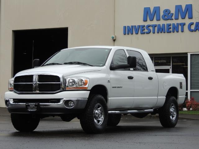 2006 Dodge Ram 3500 SLT 4dr Mega Cab / 4X4 / 5.9L DIESEL / 6-SPEED - Photo 33 - Portland, OR 97217