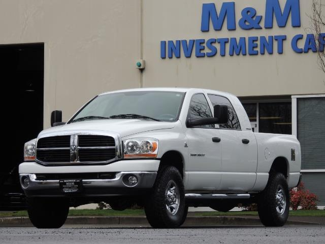 2006 Dodge Ram 3500 SLT 4dr Mega Cab / 4X4 / 5.9L DIESEL / 6-SPEED - Photo 41 - Portland, OR 97217