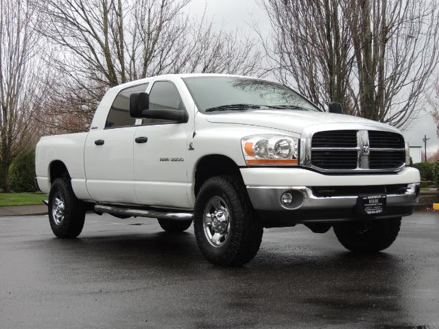 2006 Dodge Ram 3500 SLT 4dr Mega Cab / 4X4 / 5.9L DIESEL / 6-SPEED - Photo 2 - Portland, OR 97217