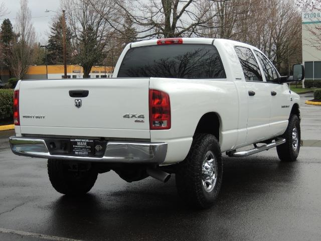 2006 Dodge Ram 3500 SLT 4dr Mega Cab / 4X4 / 5.9L DIESEL / 6-SPEED - Photo 8 - Portland, OR 97217