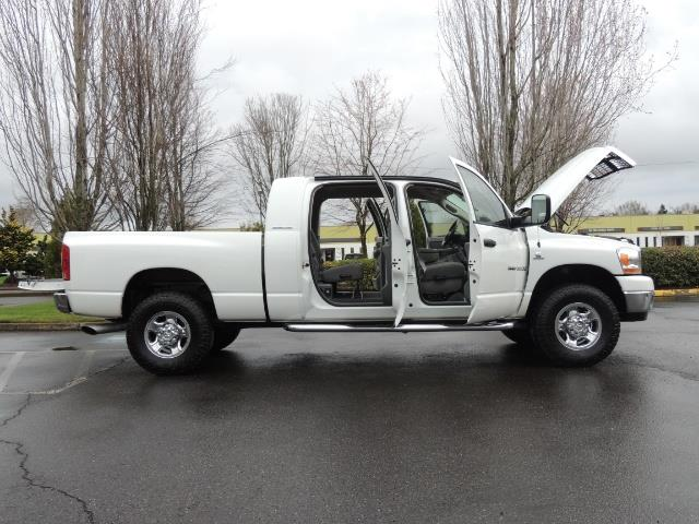 2006 Dodge Ram 3500 SLT 4dr Mega Cab / 4X4 / 5.9L DIESEL / 6-SPEED - Photo 30 - Portland, OR 97217