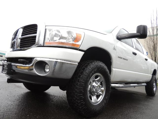 2006 Dodge Ram 3500 SLT 4dr Mega Cab / 4X4 / 5.9L DIESEL / 6-SPEED - Photo 11 - Portland, OR 97217