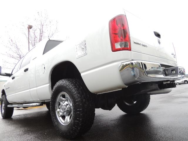 2006 Dodge Ram 3500 SLT 4dr Mega Cab / 4X4 / 5.9L DIESEL / 6-SPEED - Photo 9 - Portland, OR 97217