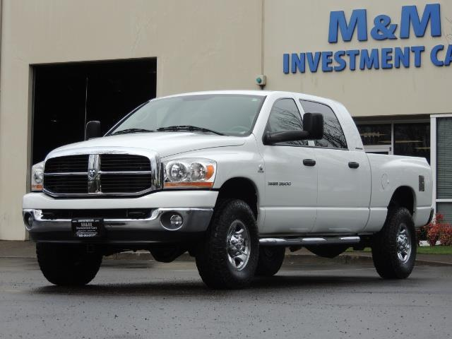 2006 Dodge Ram 3500 SLT 4dr Mega Cab / 4X4 / 5.9L DIESEL / 6-SPEED - Photo 1 - Portland, OR 97217