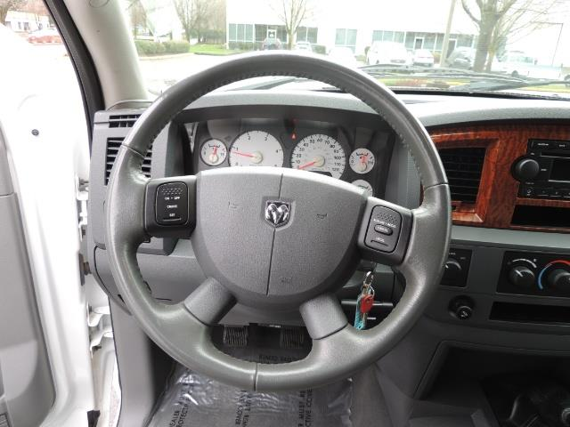 2006 Dodge Ram 3500 SLT 4dr Mega Cab / 4X4 / 5.9L DIESEL / 6-SPEED - Photo 21 - Portland, OR 97217