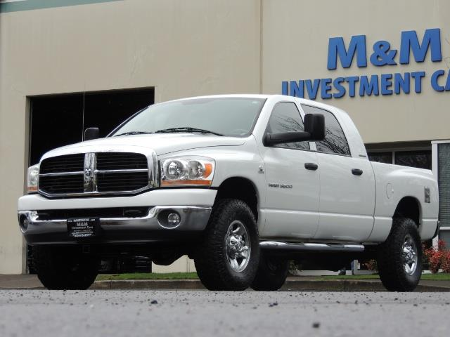2006 Dodge Ram 3500 SLT 4dr Mega Cab / 4X4 / 5.9L DIESEL / 6-SPEED - Photo 44 - Portland, OR 97217