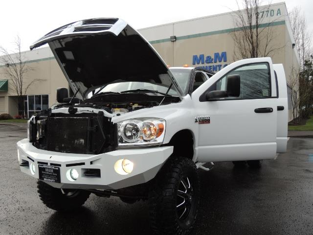2007 Dodge Ram 3500 DUALLY 4X4 Mega Cab / 5.9 DIESEL / 6-Speed LIFTED - Photo 25 - Portland, OR 97217