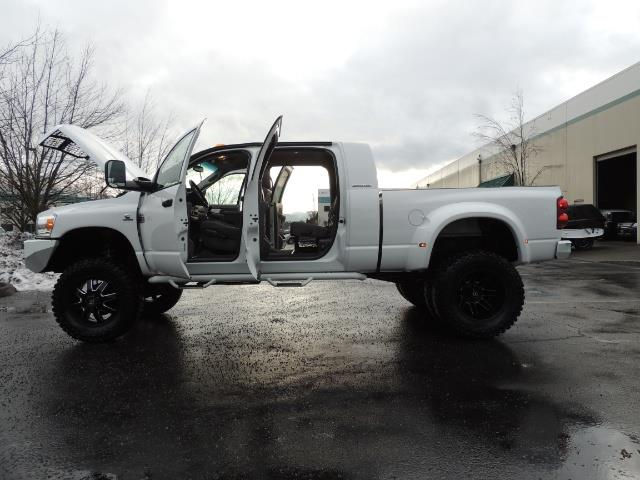 2007 Dodge Ram 3500 DUALLY 4X4 Mega Cab / 5.9 DIESEL / 6-Speed LIFTED - Photo 20 - Portland, OR 97217