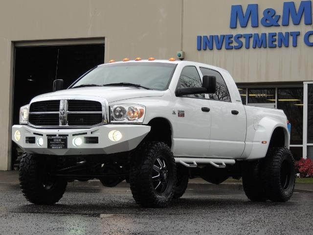 2007 Dodge Ram 3500 DUALLY 4X4 Mega Cab / 5.9 DIESEL / 6-Speed LIFTED - Photo 1 - Portland, OR 97217