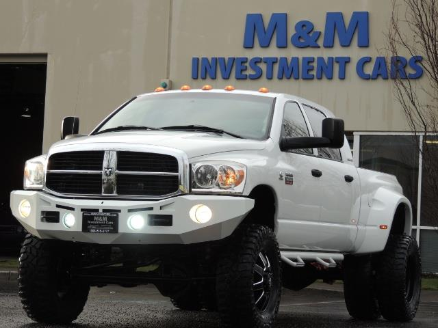 2007 Dodge Ram 3500 DUALLY 4X4 Mega Cab / 5.9 DIESEL / 6-Speed LIFTED - Photo 44 - Portland, OR 97217
