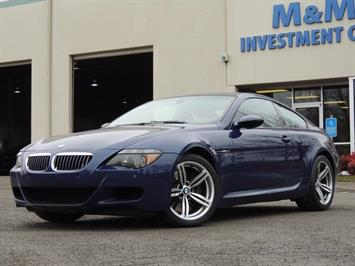 2006 BMW M6 Navigation / 500HP / Excel Cond Coupe