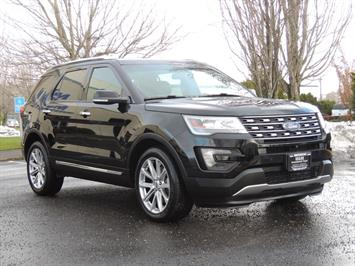 2016 Ford Explorer Limited / 4WD/ THIRD SEAT/ Backup Camera SUV