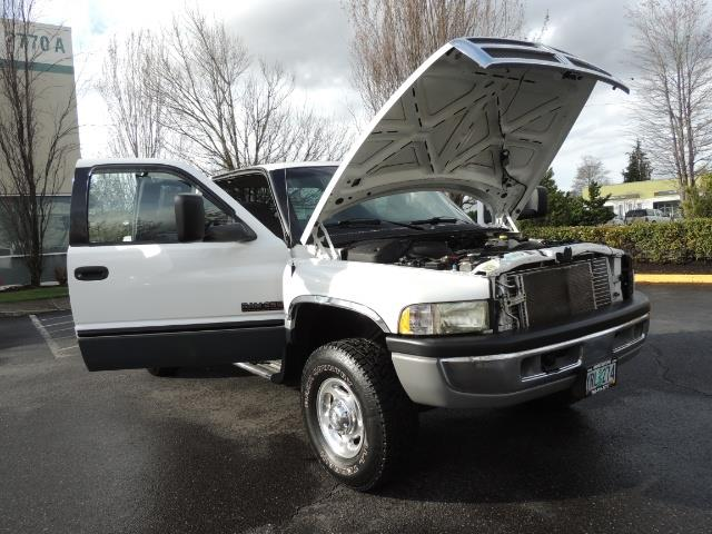 2002 Dodge Ram 2500 SLT Plus 4dr / 4X4 / 5.9L DIESEL HIGHOUTPUT/ 6-SPD - Photo 29 - Portland, OR 97217