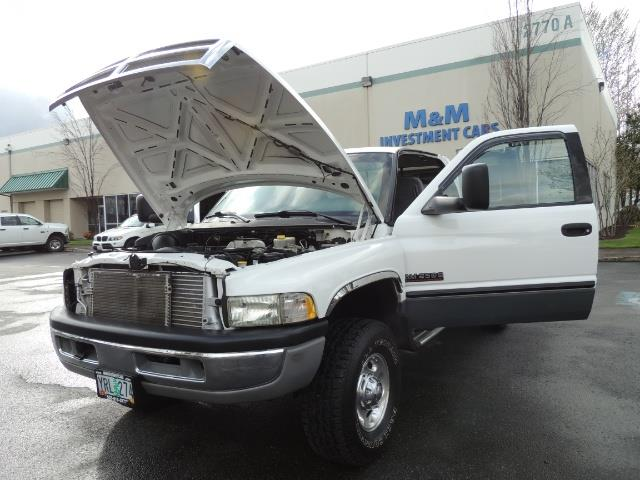 2002 Dodge Ram 2500 SLT Plus 4dr / 4X4 / 5.9L DIESEL HIGHOUTPUT/ 6-SPD - Photo 25 - Portland, OR 97217