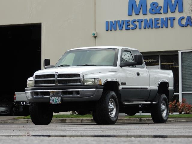 2002 Dodge Ram 2500 SLT Plus 4dr / 4X4 / 5.9L DIESEL HIGHOUTPUT/ 6-SPD - Photo 36 - Portland, OR 97217