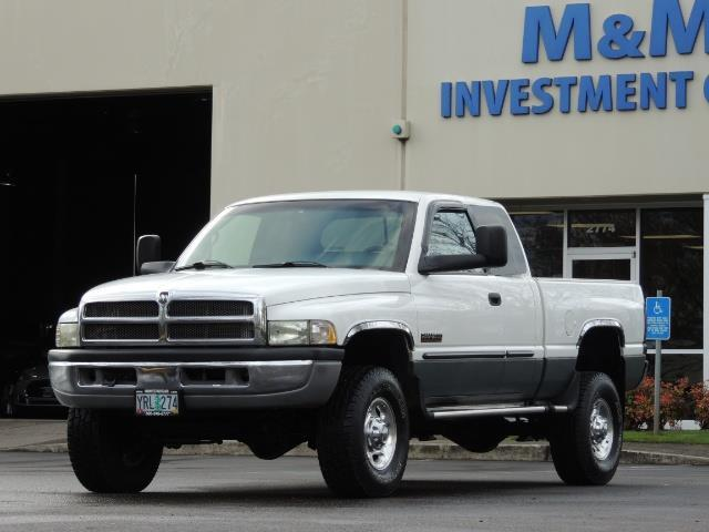 2002 Dodge Ram 2500 SLT Plus 4dr / 4X4 / 5.9L DIESEL HIGHOUTPUT/ 6-SPD - Photo 45 - Portland, OR 97217