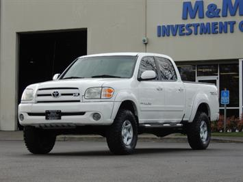 2004 Toyota Tundra Limited 4dr Double Cab / 4X4 / Leather / LIFTED Truck